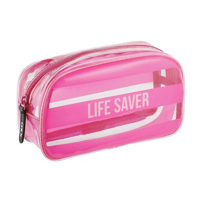 "<a href=""http://www.kmart.com.au/product/cosmetic-clutch---life-saver/1133420"" target=""_blank"" draggable=""false"">Kmart Lifesaver Cosmetic Clutch, $5, kmart.com.au</a>"