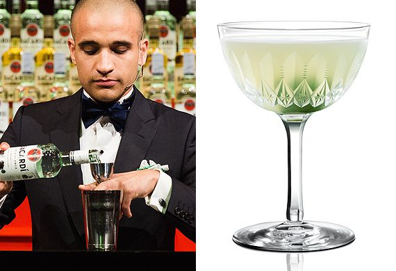 Franck Dedieu's Bacardi Legacy-winning Le Latin rum cocktail