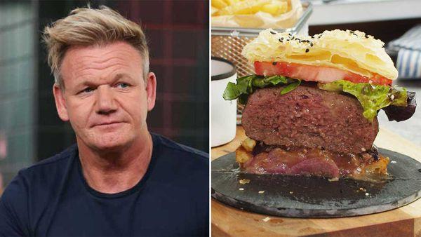 Chef Gordon Ramsay slammed for epic onion tatin burger