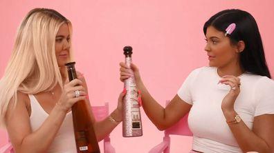 Kylie Jenner, Khloé Kardashian, drunk makeup tutorial, YouTube, birthday