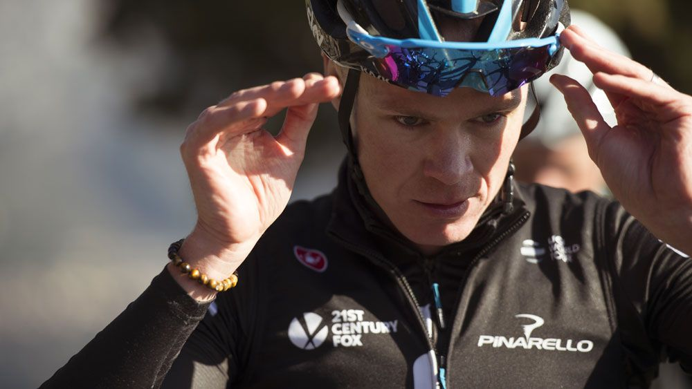 Chris Froome has again been asked to defend Team Sky. Getty Images)