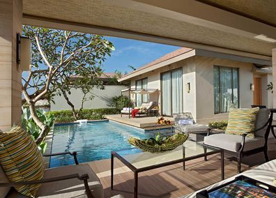 Mulia Nusa Dua private pool villa