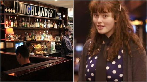 Eurydice Dixon was killed while walking home after performing a comedy gig at the Highlander bar. Picture: Supplied