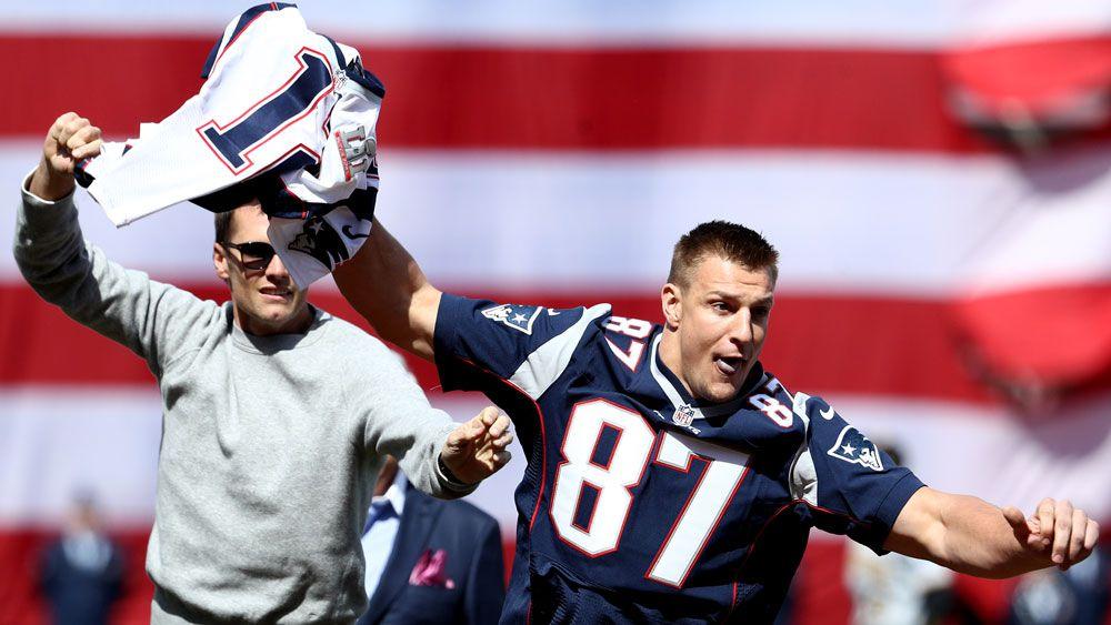 New England Patriots' Tom Brady receives back his stolen Super Bowl jerseys