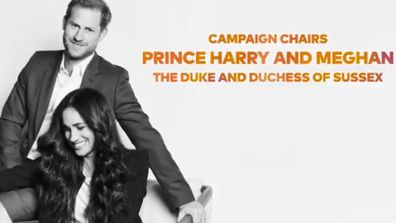 Prince Harry and Meghan Markle in Global Citizen Vax Live promo video