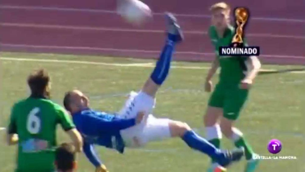 Spanish player hits the big time with outrageous goal