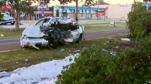 The judge was surprised anyone walked away from the horrific accident. (9NEWS)