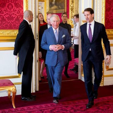 Crown Prince Pavlos of Greece and his cousin Prince Charles
