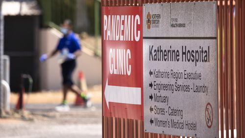 The NT town of Katherine is in lockdown.