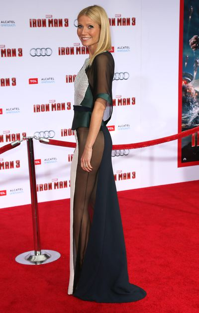 Gwyneth Paltrow in Antonio Berardi in 2013