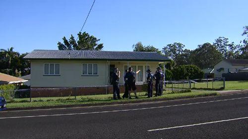 The robbery happened at a Mary Street, Bundamba, home. (9NEWS)