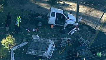 The crash killed a 63-year-old woman.
