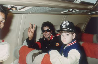 Michael Jackson and James Safechuck