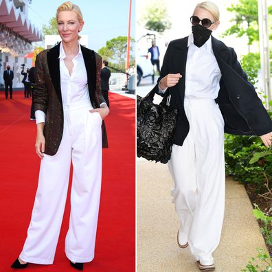 Cate Blanchett at the 2020 Venice Film Festival.
