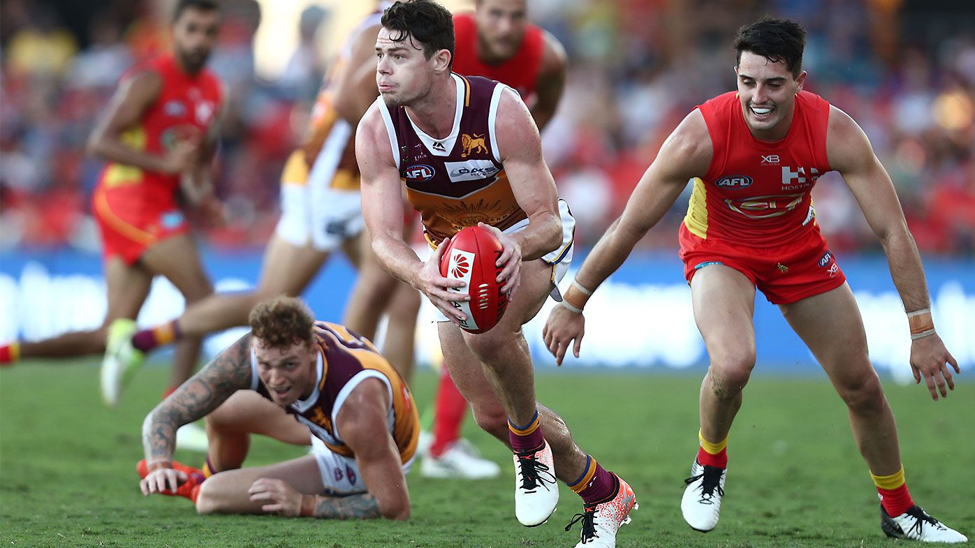 Lachie Neale continues outstanding season as Brisbane Lions prevail in Queensland clash