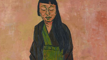 Tony Costa's portrait of Lindy Lee has won the 2019 Archibald Prize.