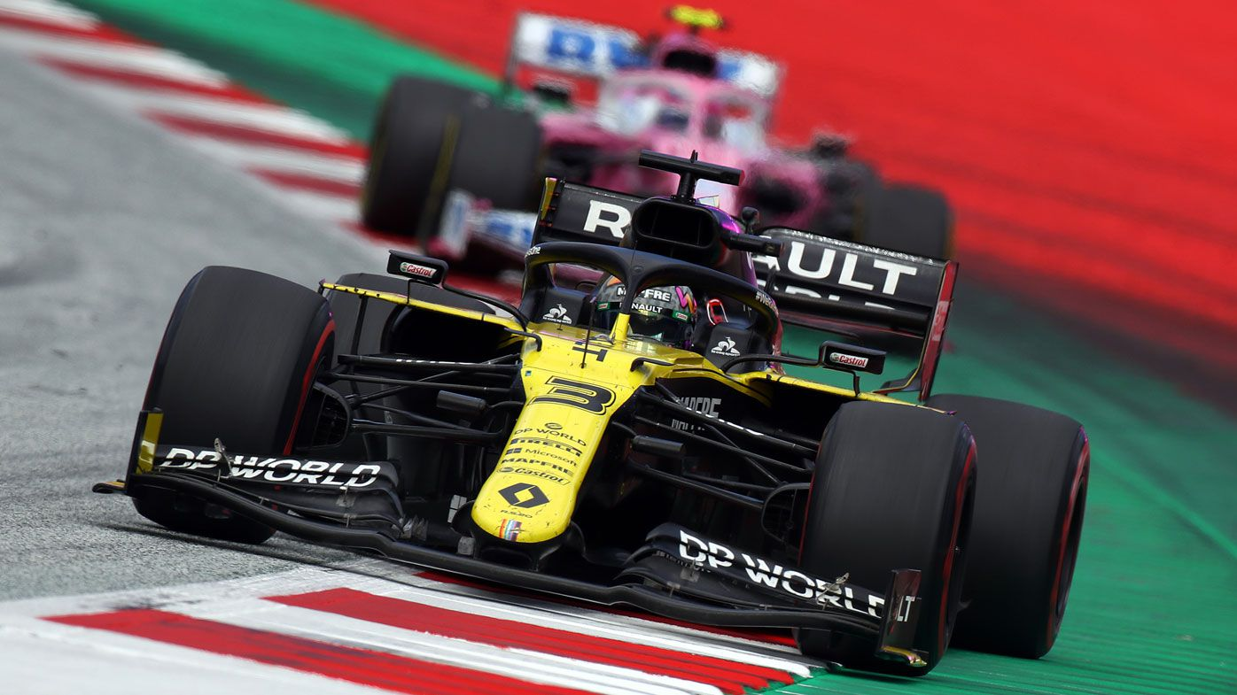 F1 Styrian Grand Prix News Renault Protest On Racing Point Cars Daniel Ricciardo Fumes Over Lance Stroll