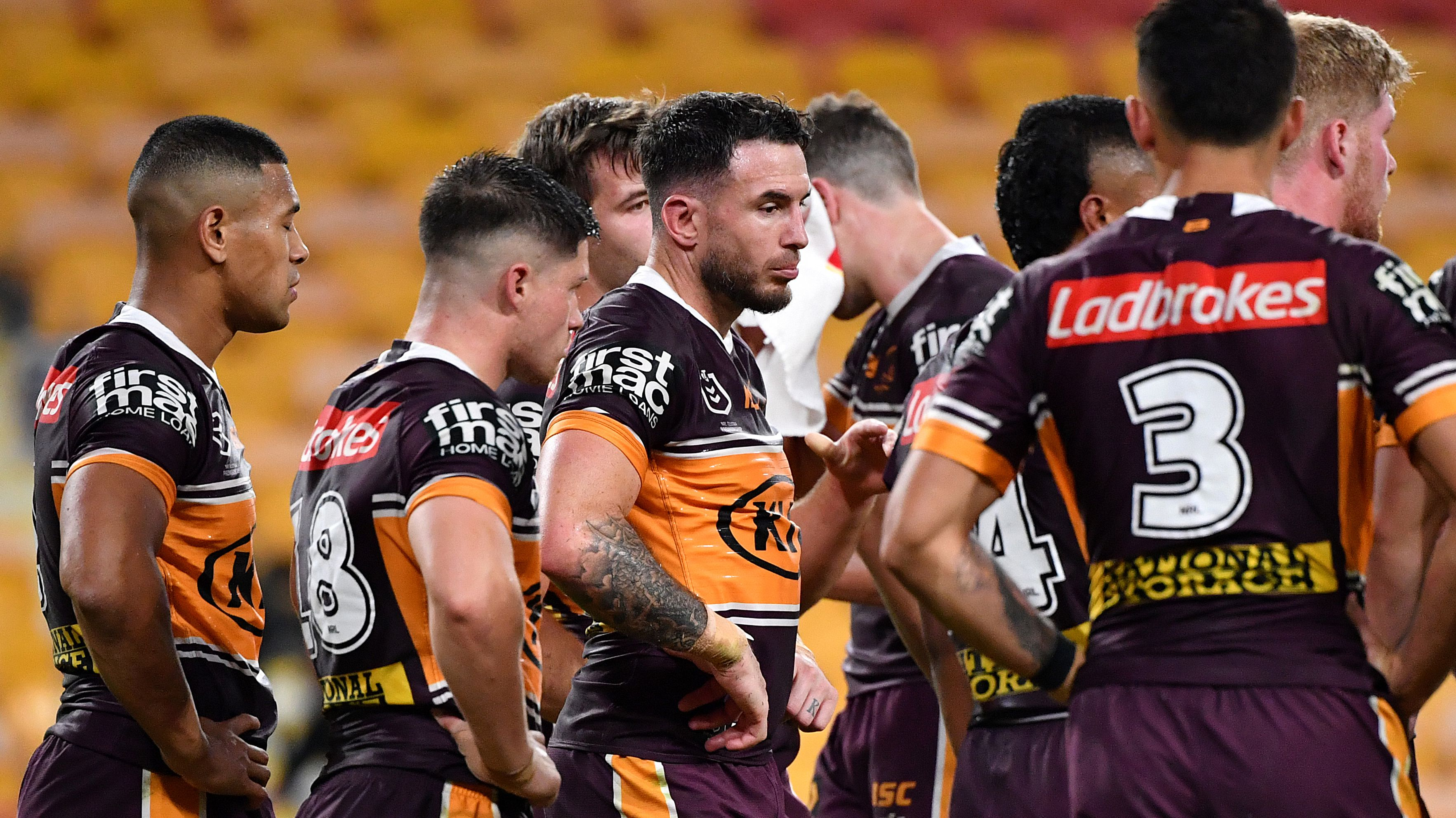 Broncos accused of post-match cowardice after avoiding media to explain thumping loss against Roosters