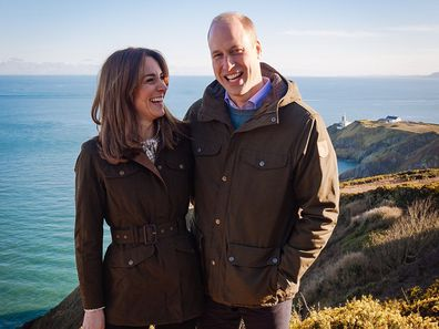 Kate and William looking happy in Ireland.