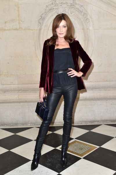 <p>2. Carla Bruni</p> <p>First Lady of France 2008-2012</p> <p>Designated Designers- Dior, Valentino, Versace</p>