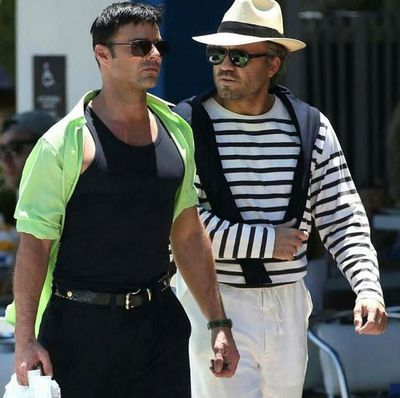 Ricky Martin has appeared on set as Versace's longtime partner Antonio D'Amico.