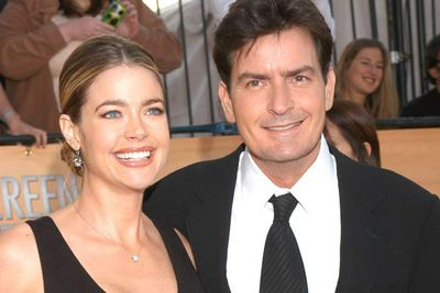 Charlie Sheen and Denise Richards<br />