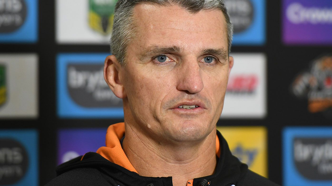 Wests Tigers coach Ivan Cleary