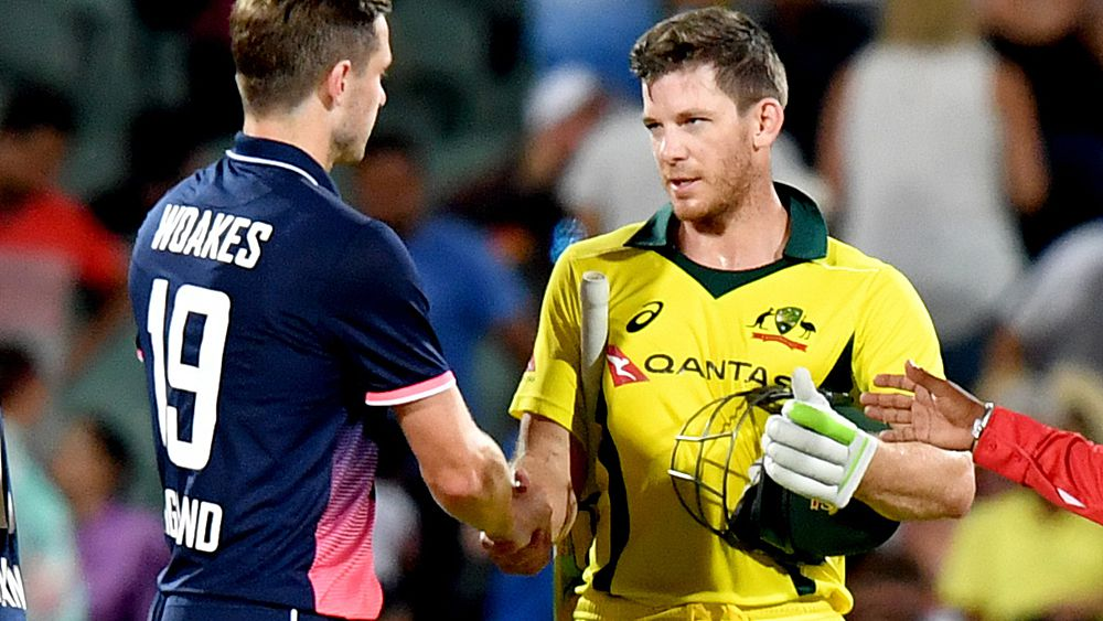 Cricket: Australia defeat England by three wickets in the fourth ODI in Adelaide