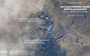 Satellite images indicate Russia is preparing to resume testing its nuclear-powered cruise missile