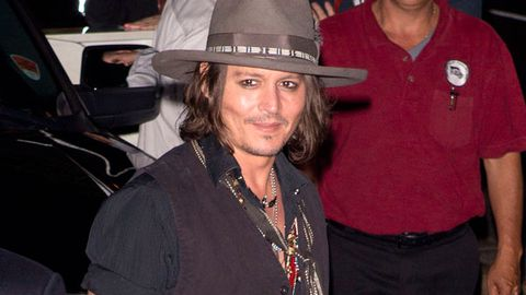 Single and ready to mingle: Johnny Depp reappears following split