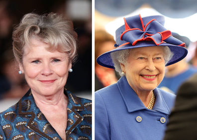 Actress Imelda Staunton plays the new Queen in season five of The Crown.