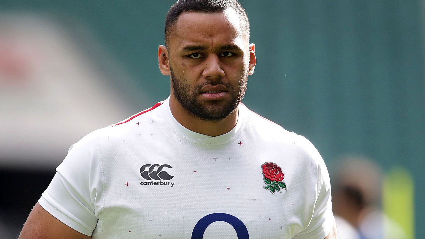 England's Billy Vunipola during the training session at Twickenham