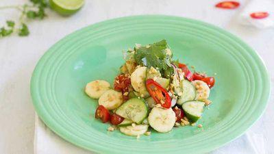 <strong>Green banana som tum Thai salad</strong>