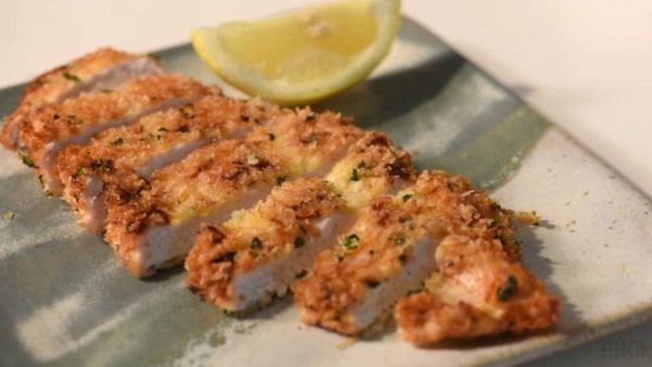 Perfect crumbed chicken