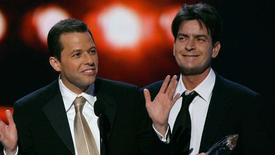 Jon Cryer and Charlie Sheen.