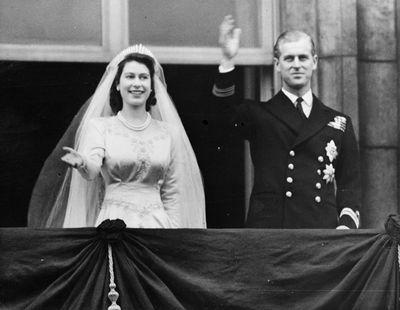 <p> </p> Princess Elizabeth's wedding day