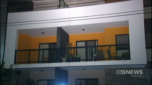 Robert Wright died three days after falling 12 metres from a balcony. (9NEWS)