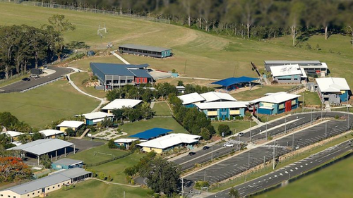 Parklands Christian College in Logan, south of Brisbane, will be closed today after one of its cleaners tested positive.