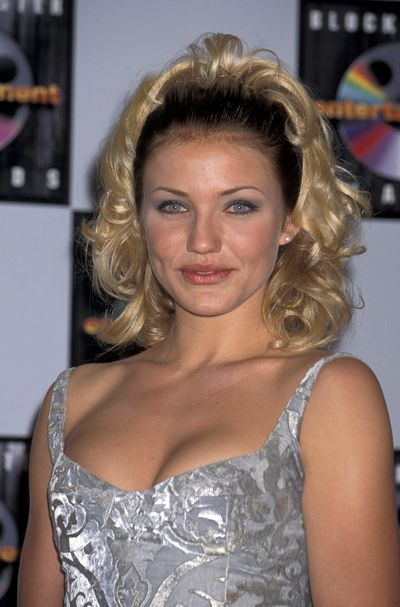 Cameron Diaz at the 1st Annual Blockbuster Entertainment Awards, June, 1995<br>