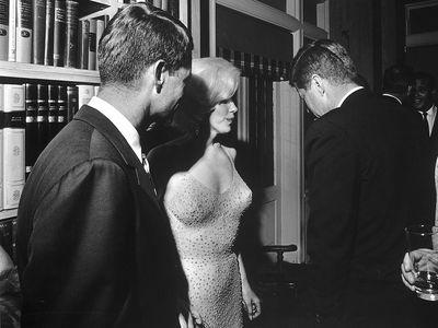 Marilyn Monroe's Kennedy 'affairs'