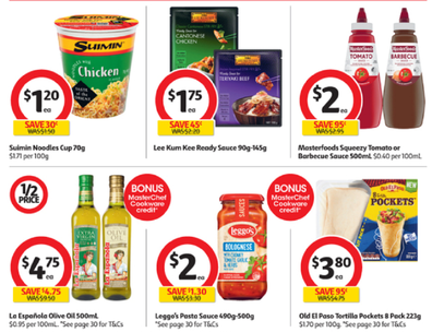 Coles is making your pasta lunch or dinner so much easier with pre-made sauce and pasta varieties.