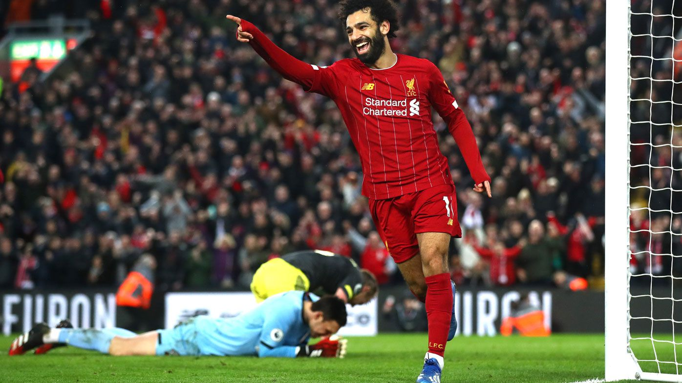 Liverpool extend Premier League lead to 22 points with 4-0 win over Southampton