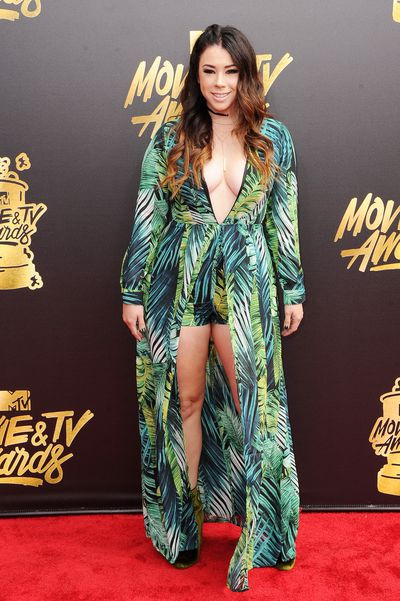 Actress Jillian Rose Reed at the 2017 MTV Movie & TV Awards in Los Angeles