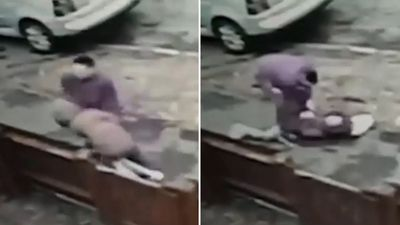 Girl, 12, thrown to ground in terrifying street robbery
