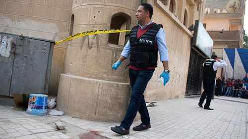 The shooter and a police officer were among the 11 people killed in the attack. (AAP)