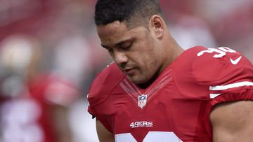Jarryd Hayne has been waived by the 49ers. (AAP)