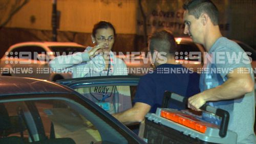Lone Wolf member Erkan Keskin was arrested outside his Millers Point apartment.