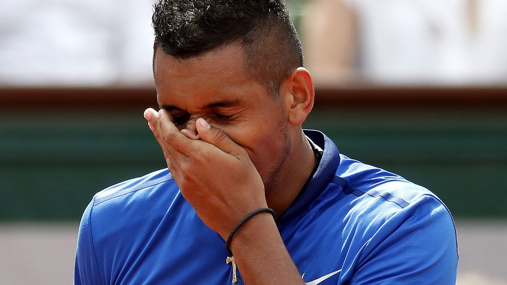 I got absolutely destroyed, says Kyrgios