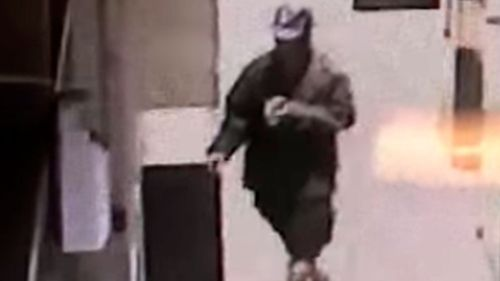 Escobar is believed to be the man captured on surveillance video ransacking the pockets and belongings of homeless men in Los Angeles.