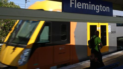 Overhead wiring repairs at Flemington creates train chaos. (Picture: Sydney News Monitor)